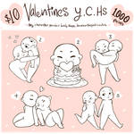 Valentines YCH