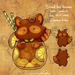 12. March calendar Teacats - Sweet tea