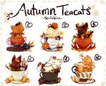 Autumn teacats [closed]