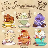 Macaroon/Macaron singing tea batch [closed] by scribblin