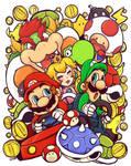 Mario kart cancer fundraiser