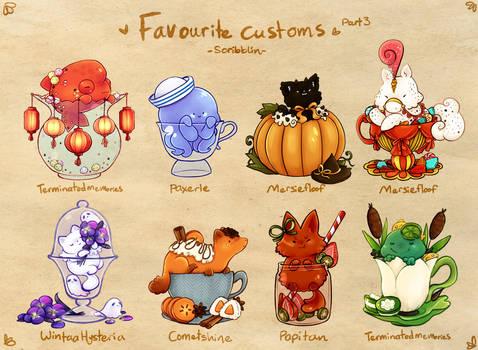 Favourite Teacat customs 3