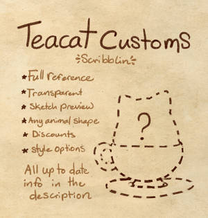 Teacat customs (OPEN)