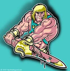 He-man vs Carebear