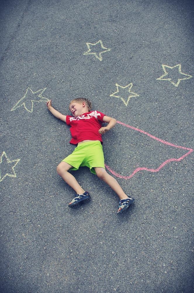 Little superman dream by ssilverartist