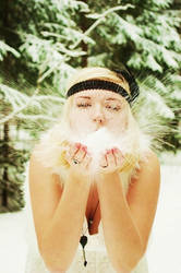 Snow angel by ssilverartist