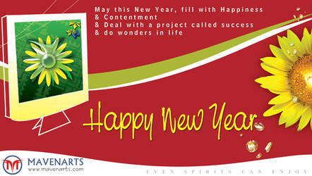 New Year Greetings by kumz