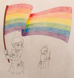 Growing Around: Happy Pride Month, Neven!