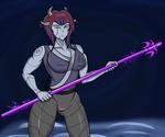 Spear Kamui (HBD sixpathsoffriendship) by aj0joe