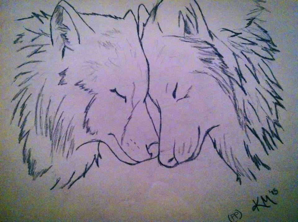 Wolf Mates by FryingPa...