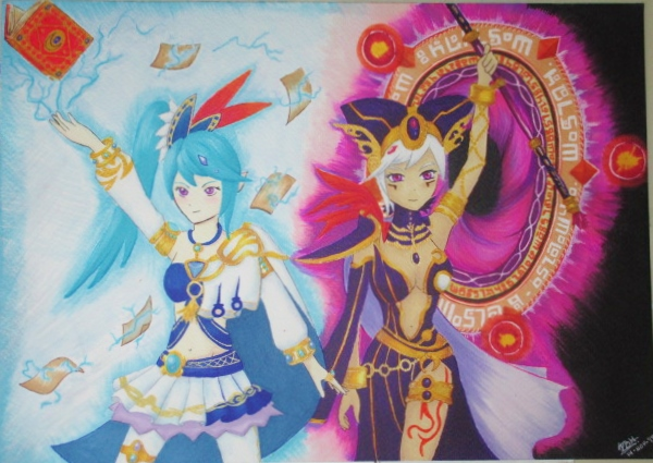 Lana And Cia Hyrule Warriors By Elizabethlittle On Deviantart