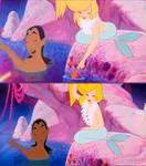 mulan and mermaids