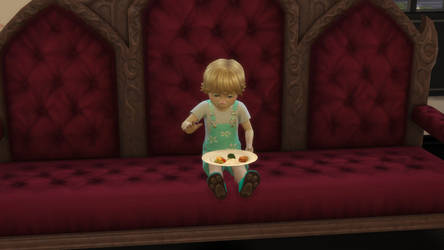 Sims Toddler aka William by 04jh1911