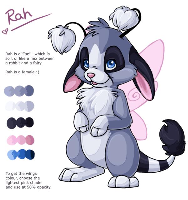 Rah's updated ref sheet