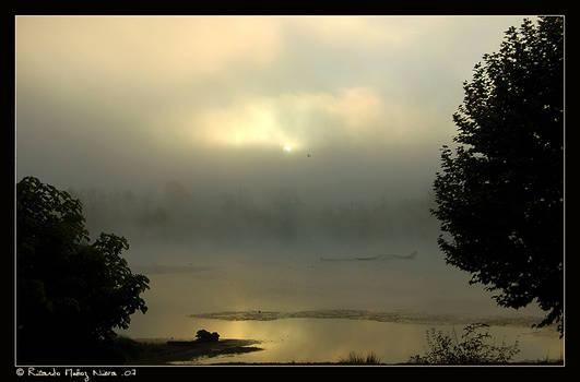 Sunrise over the lake - 2