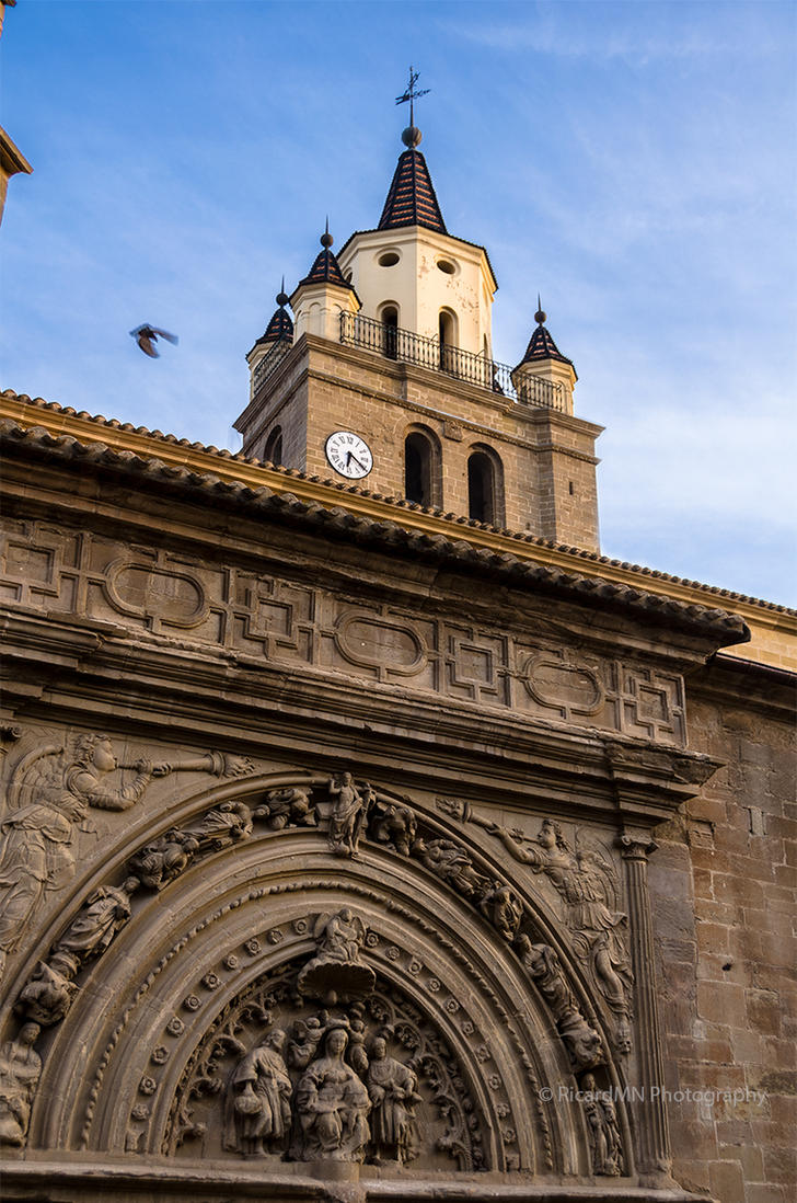 Saint Hieronymus facade of Calahorra Cathedral by RicardMN