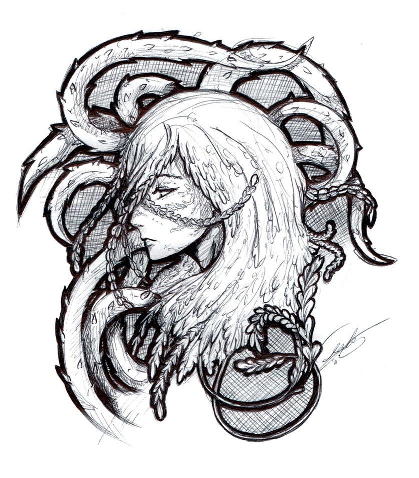 Vine Girl by suicidal-voodoo-doll