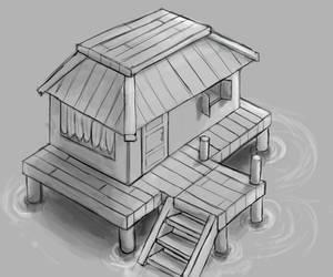 Dock House by denmander