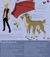 Sheet: Diego Rodriguez by Zelendur
