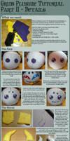 Grub Plushie Sewing Tutorial - PART II by Zelendur