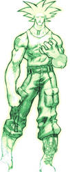 Street Fighter-Guile Concept by TheJohnsonDesign