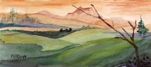 Landscape II by aladyx