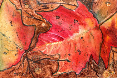 TUMBLING LEAVES by aladyx