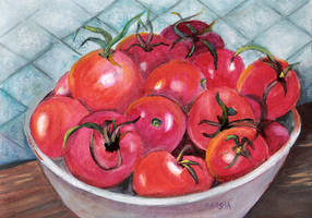 Tomatoes Bountiful by aladyx