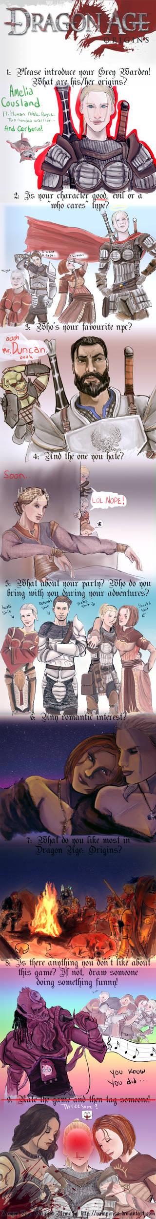 Dragon Age Origins Meme