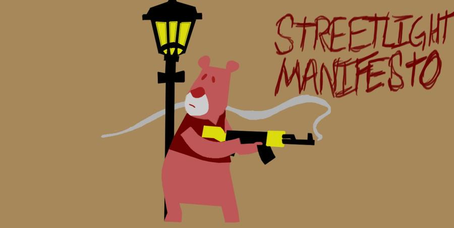 Streetlight Manifesto bear by MetalGearMerc on DeviantArt Streetlight Manifesto Wallpaper