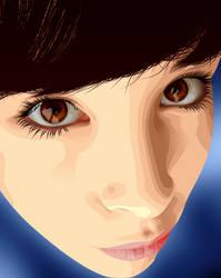 The eyes by loqysha