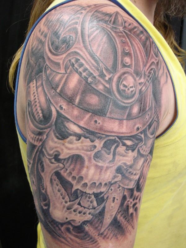 Samurai Skull By Aenema777 On Deviantart