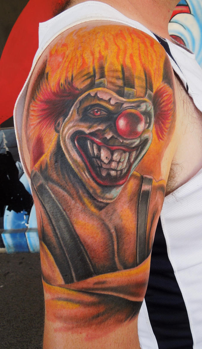 Sweet tooth from twisted metal by aenema777 on deviantart - Sweet tooth wallpaper twisted metal ...