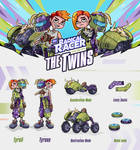 Radical Racer - The twins Tyrell and Tyrone
