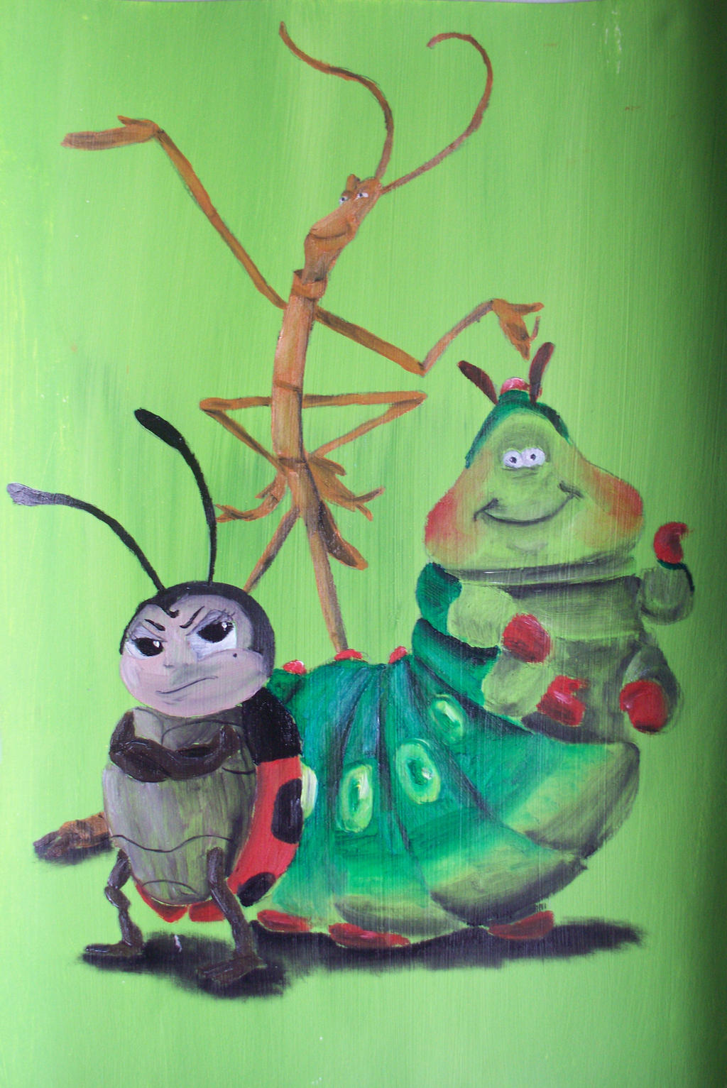 Francis, Heimlich And Slim by billywallwork525 on DeviantArt