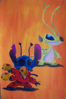 Experiment 626 and Sparky by billywallwork525