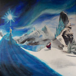 The Cold Never Bothered Me Anyway by billywallwork525