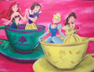 Princesses in Tea Cups