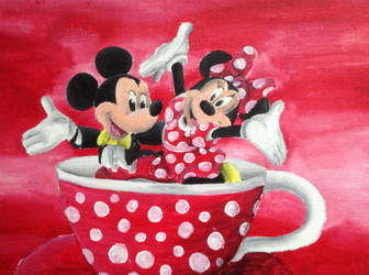 Mouse Tea Cup by billywallwork525