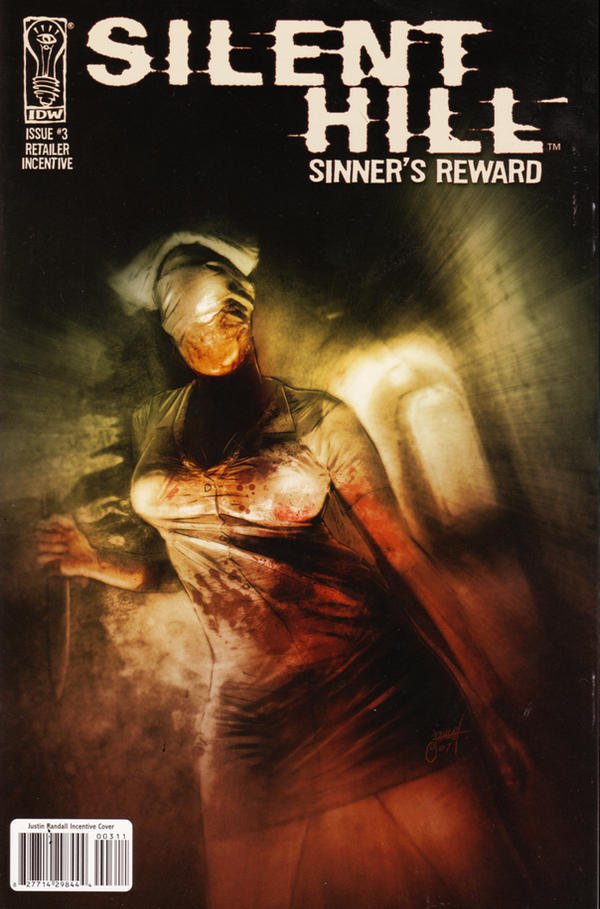 Silent Hill variant cover 3 by JustinRandall
