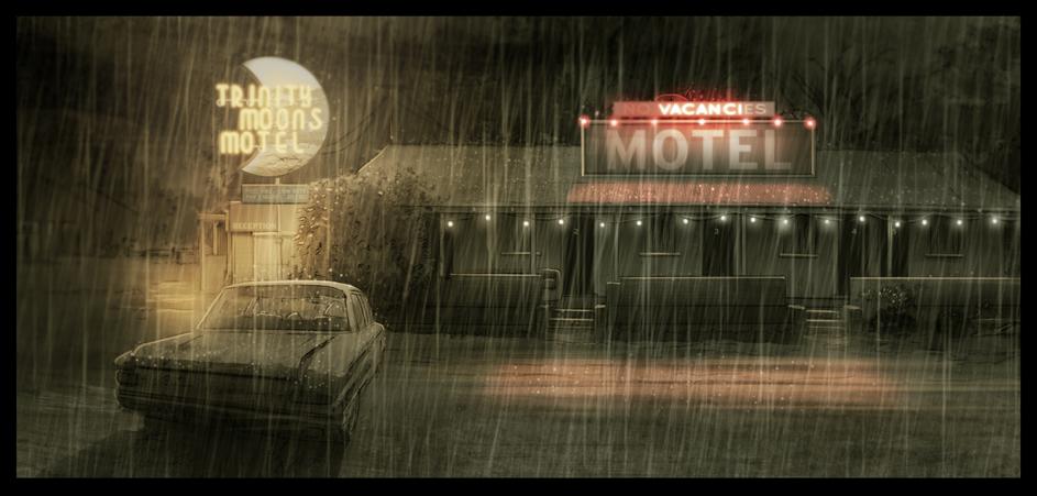 TRINITY MOONS MOTEL by JustinRandall