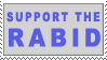 Support the Rabid Stamp by Gallifery