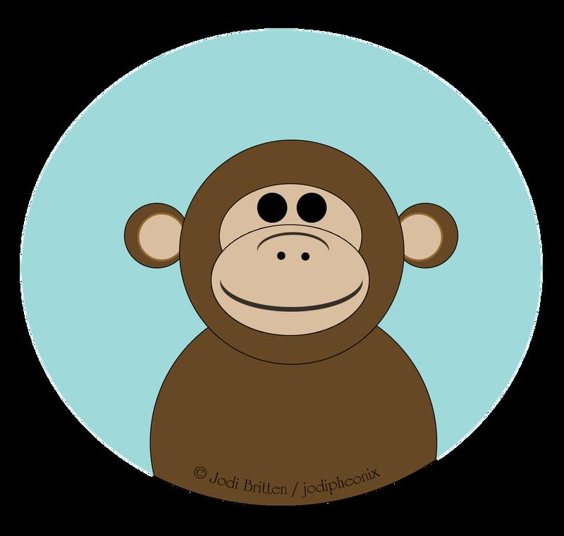 Cheeky Monkey by jodipheonix