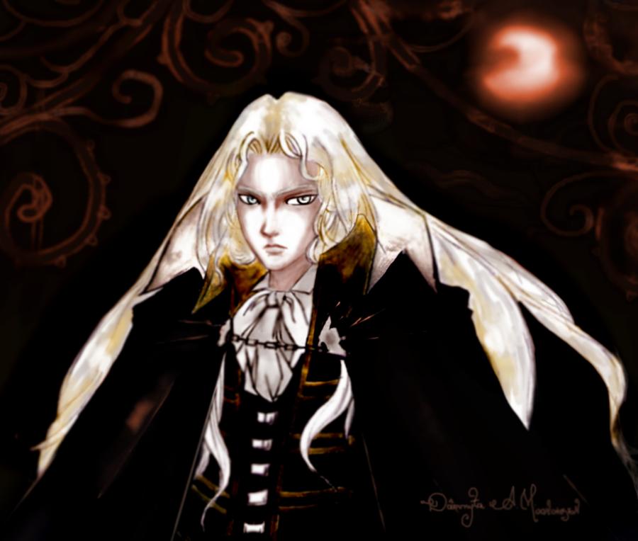 Alucard Castlevania SotN By Moonchosen