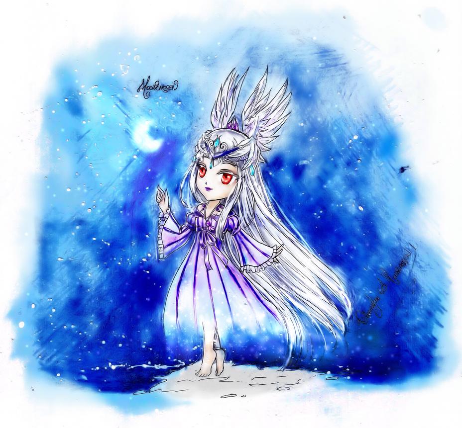 Chevaliere de Minuit Chibi by Moonchosen