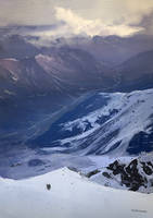 Snowy Mountain Practice by banihilman