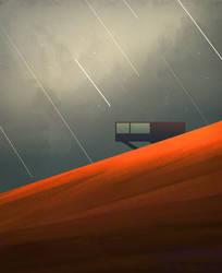 Sky Falling, 2018 by banihilman