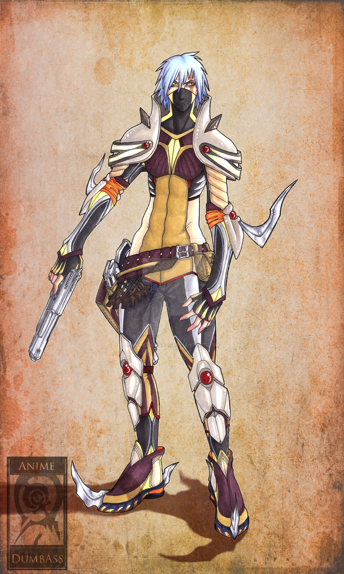 Shogu Kawamura : Desert Armor by AnimeDumbass