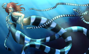 Draw Yourself: Mermaid by AnimeDumbass
