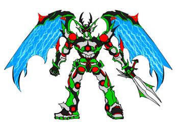 Platinum DragonKaiser by Hornyyoshi